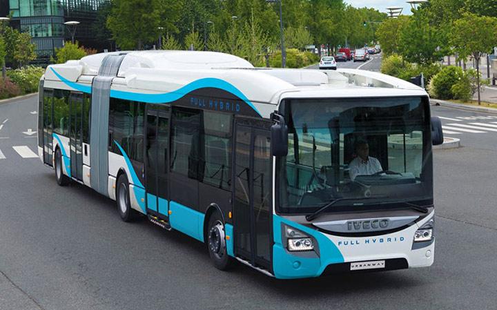 Iveco Urbanway Hybrid bus r