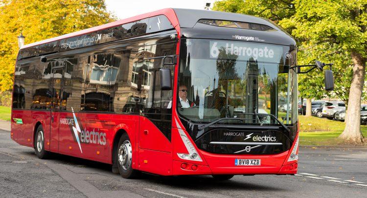 El primer autobús eléctrico en Irlanda será entregado por Volvo