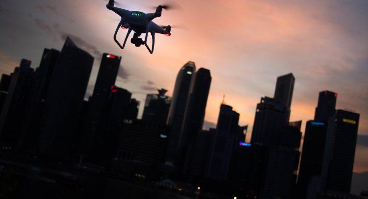 La tecnología está haciendo más autónoma la entrega de comida