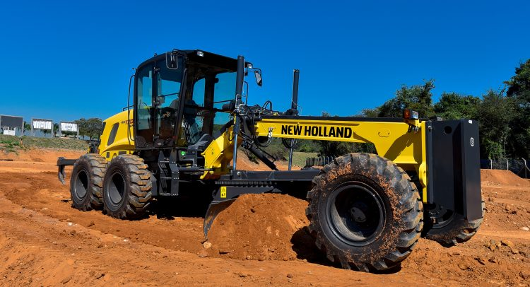 New Holland Construction es protagonista en Paraguay