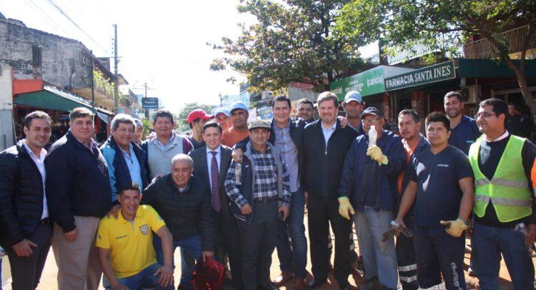 Avanzan obras sanitarias en Luque tras 44 años