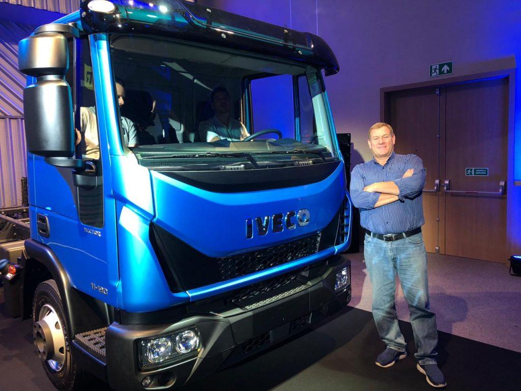 AMIGO CAMIONERO invitado al lanzamiento de los modelos TECTOR de IVECO de 9 y 11 toneladas