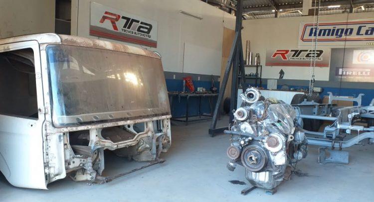 Amigo Camionero Racing: El primer camión de carreras en Paraguay, muy pronto