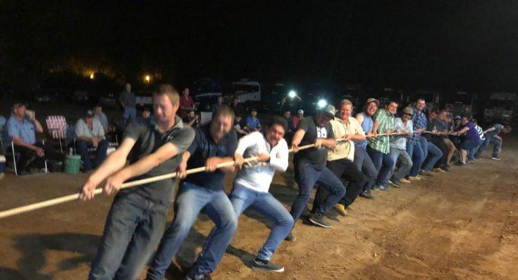 10º Encuentro de camioneros en la ciudad de Loma Plata