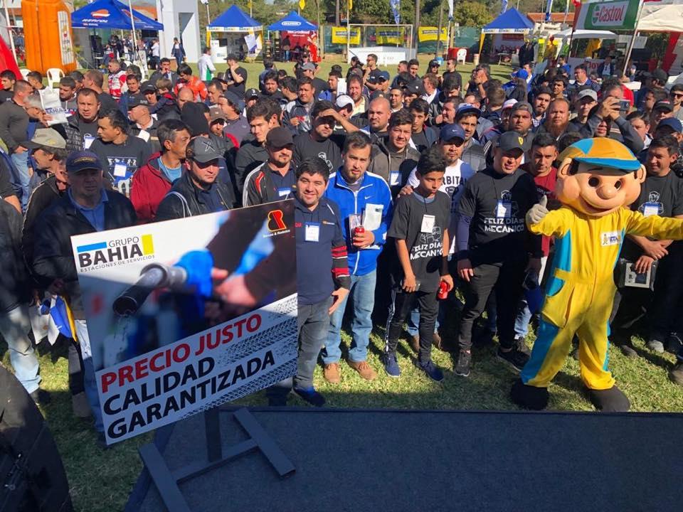 El Grupo Bahía y una tradición, celebrar el día del mecánico