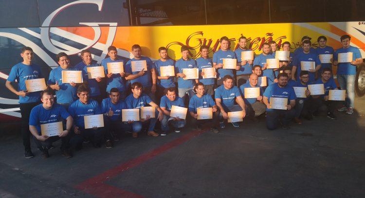 Doble premio para 6 de los participantes, que viajarán a la Fábrica de MARCOPOLO en Caxias de Sul, Brasil.