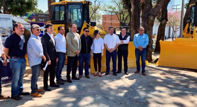 Automaq provee máquinas para la reconstrucción de Ruta Transchaco