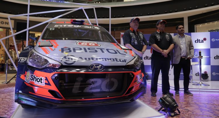 """""""Automotor Rally Team"""" presentó oficialmente su equipo para la 46° edición del Transchaco Rally 2019"""