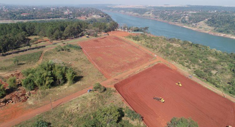 Base operativa de nuevo puente internacional se instala en Foz de Yguazú