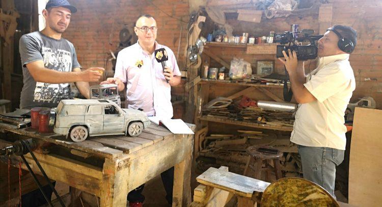 El primer camión de carreras del Paraguay, tendrá su réplica perfecta de madera