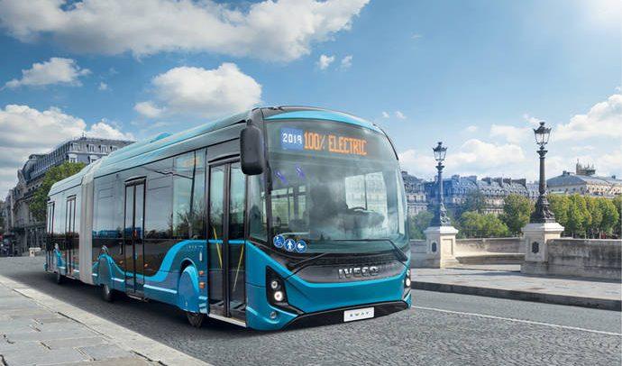 Iveco apuesta fuerte por la electromovilidad en Busworld Europa