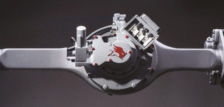 Meritor presenta eje eléctrico para camiones medianos