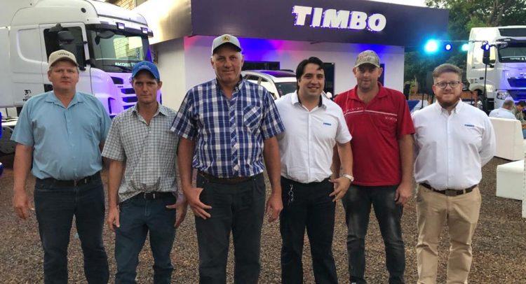 Timbo reafirma su presencia en Santa Rosa del Aguaray