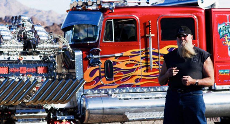 Thor 24, el camión preparado más grande y potente del mundo
