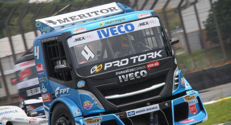 El motor Cursor 13 de FPT Industrial aceleró al equipo Iveco en la Copa Truck