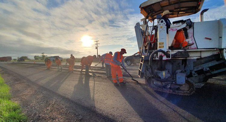 Se encuentra en plena ejecución el mejoramiento del tramo Paraguarí-Villarrica