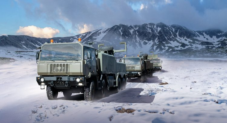 IVECO Defence Vehicles firmó contrato por 2.900 unidades con las Fuerzas Armadas de Rumania