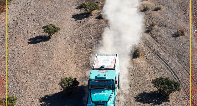 El PETRONAS Team De Rooy IVECO quedó al borde del Top 10 en la segunda etapa del Dakar 2020