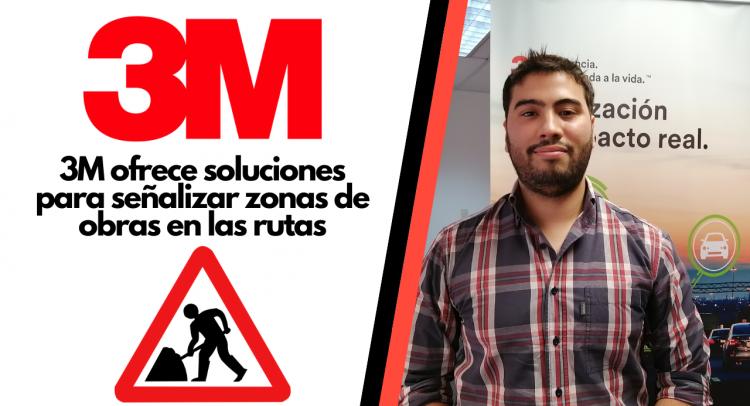 3M ofrece soluciones para señalizar zonas de obras en las rutas