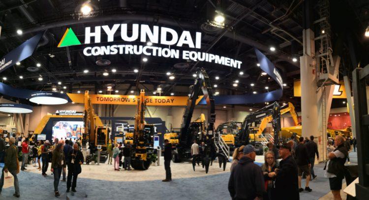 Hyundai Construction Equipment puso manos a la obra en Conexpo 2020