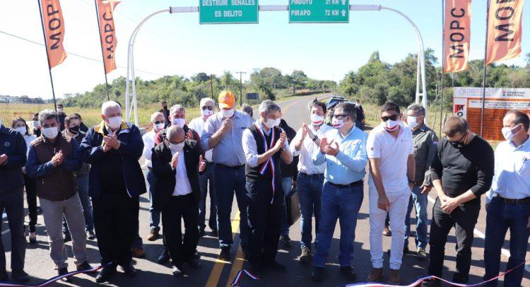 Nuevas obras auguran progreso y promueven las inversiones privadas en Itapúa