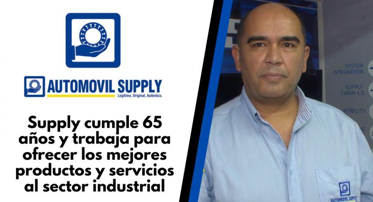 Supply cumple 65 años y trabaja para ofrecer los mejores productos y servicios al sector industrial