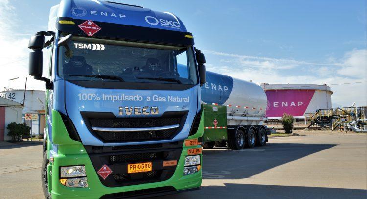 IVECO desembarca el primer camión a GNL en Chile