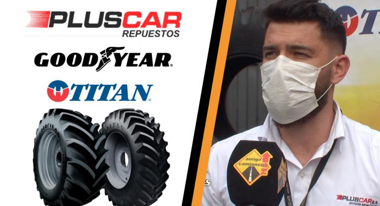 Neumáticos Goodyear Titan ahora cuentan con el respaldo de Pluscar en Paraguay