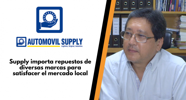 Supply importa repuestos de diversas marcas para satisfacer el mercado local