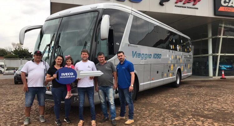 Transporte y Turismo San Ramón adquiere una nueva unidad de IVECO Bus