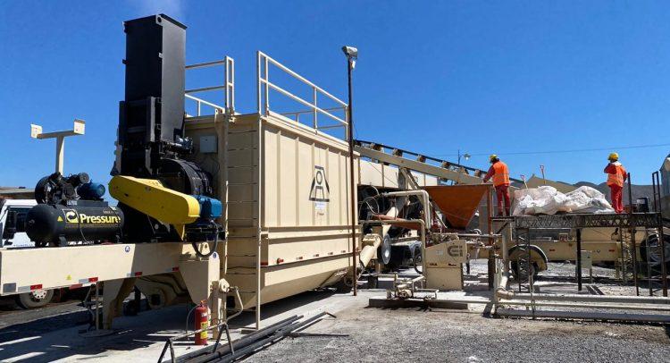 Alta productividad y calidad con la planta de asfalto ASTEC de TARGET S.A.