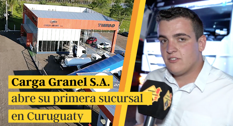 Carga Granel S.A. abre su primera sucursal en Curuguaty