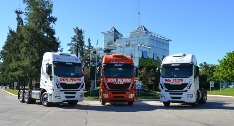 40 nuevos camiones IVECO se suman a la flota de una empresa argentina