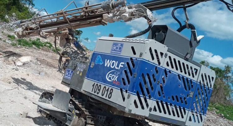 C.I.V.S.A. adquirió carro perforador WOLF