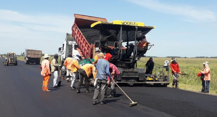 Construpar S.A. realiza tareas finales en el Lote 1 del tramo Yabebyry - Santa Rita