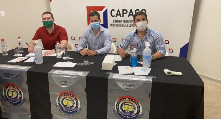 Capaco eligió nuevo presidente y miembros del consejo ejecutivo