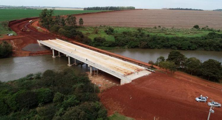 Puente de 120 metros sobre el Río Monday está próximo a inaugurarse