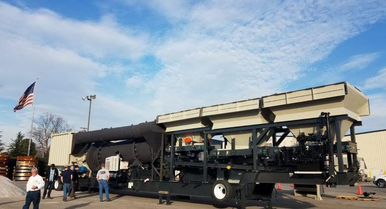 Target presenta la Ventura 140 el nuevo modelo de planta de asfalto de ASTEC