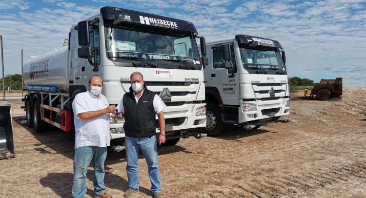 Creando nuevos caminos con Sinotruk y Constructora Heisecke