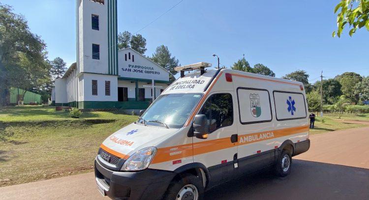 Municipio de Edelira adquirió una ambulancia para mejorar el sistema sanitario del distrito