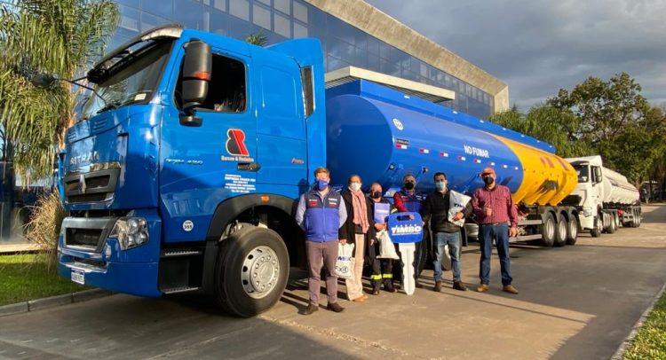 CHACO IRU S.A. adquirió dos camiones Sinotruk Sitrak T7H