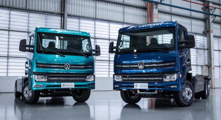 e-Delivery: Volkswagen presentó su primer camión eléctrico