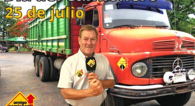 25 de julio: Honramos el trabajo de los camioneros en su día