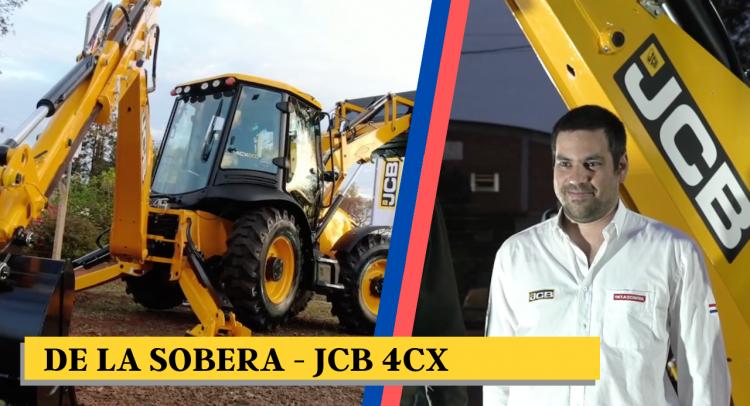 De La Sobera presentó la retroexcavadora más grande del mercado