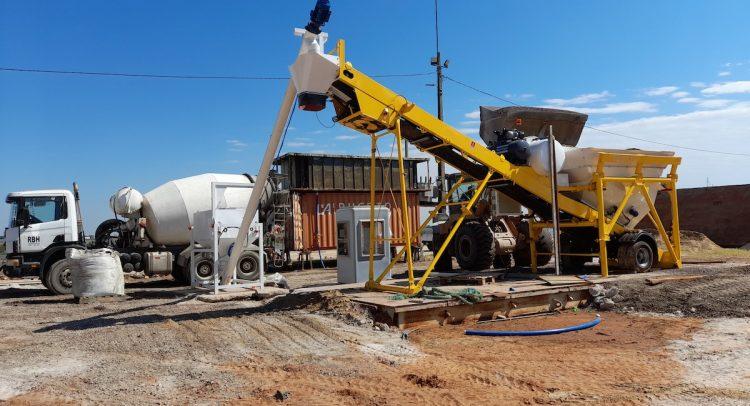 JARAMAZ puso en marcha la primera planta dosificadora de hormigón