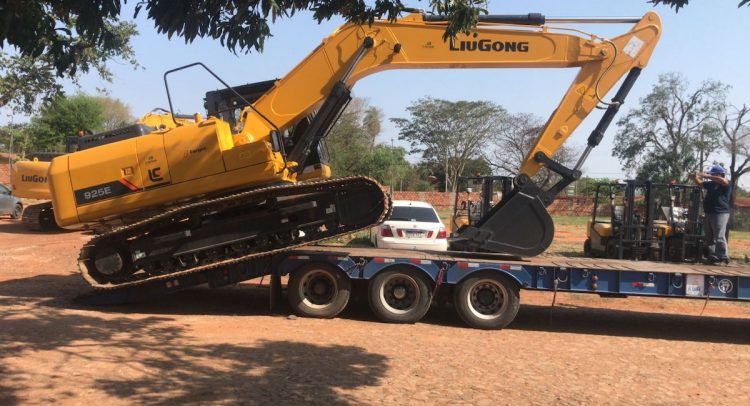Capar adquirió una excavadora LiuGong