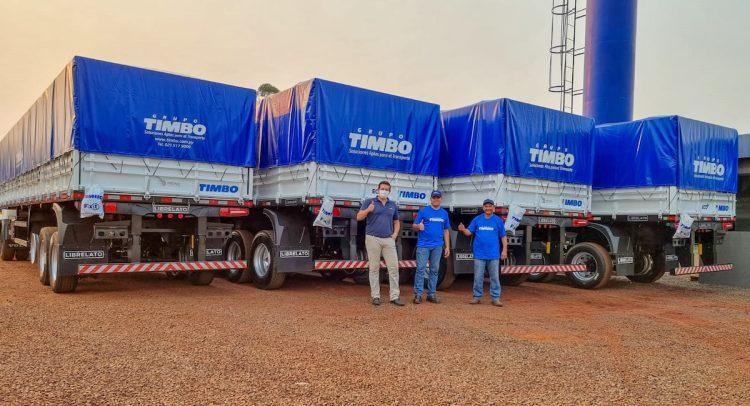 TROCIUK adquirió cuatro semirremolques LIBRELATO del Grupo Timbo