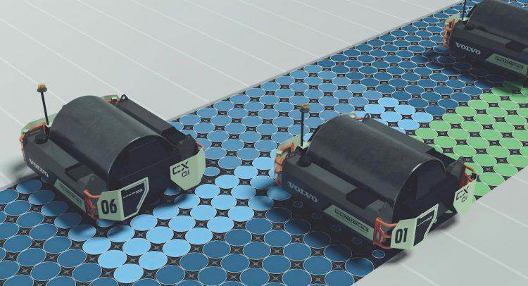 VOLVO CE presentó el concepto de compactador de asfalto de un solo tambor CX01 en la UTILITY EXPO