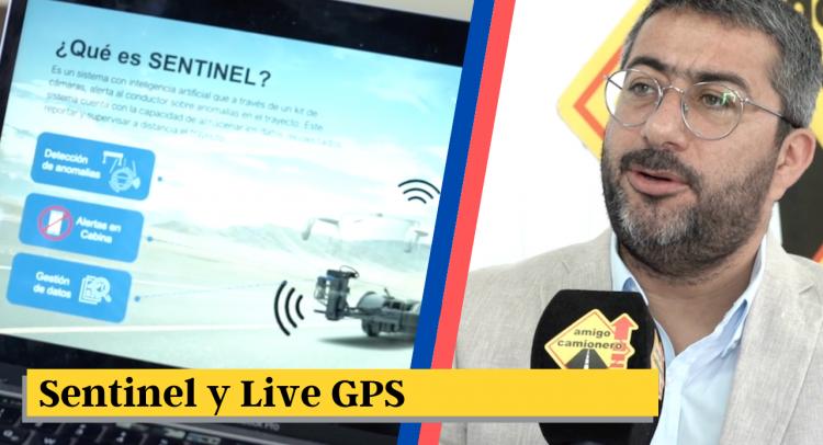 Sentinel y Live GPS: Nuevas tecnologías facilitan labor de empresas de transporte